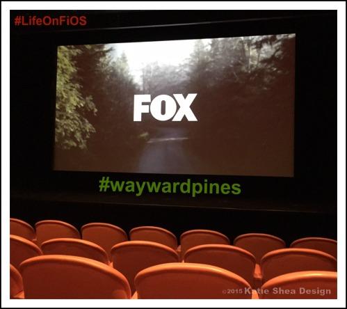 Fox Screening of Wayward Pines Image shot by Katie Shea Design #LifeOnFiOS AT Fox NYC