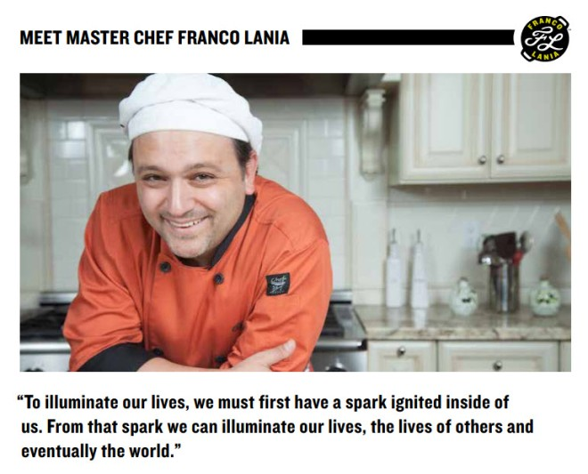 Meet Chef Franco Lania