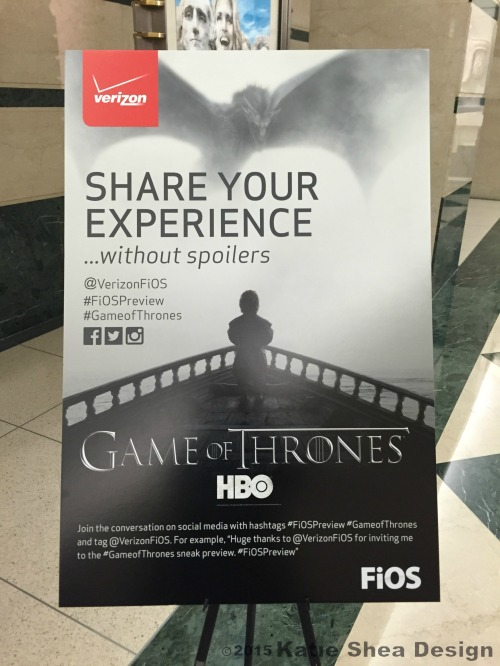 Share Your Game of Thrones Experience shot with iPhone6 by Katie Shea Design VZWBuzz