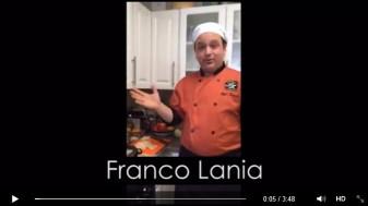 Short clip from Katie Shea Design's Meerkat Video of Chef Franco Lania