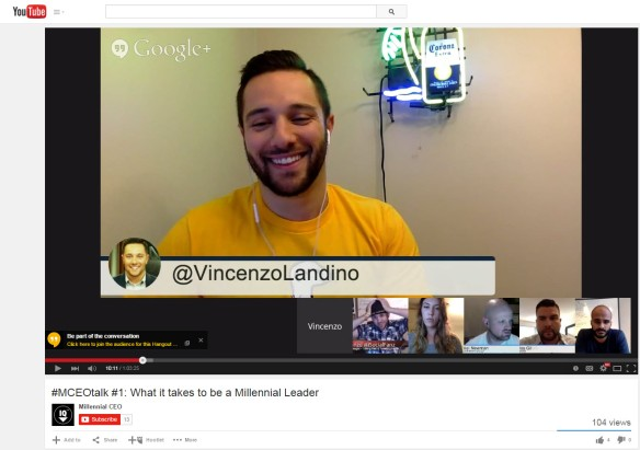 Vincent Landino on MCEOTalk