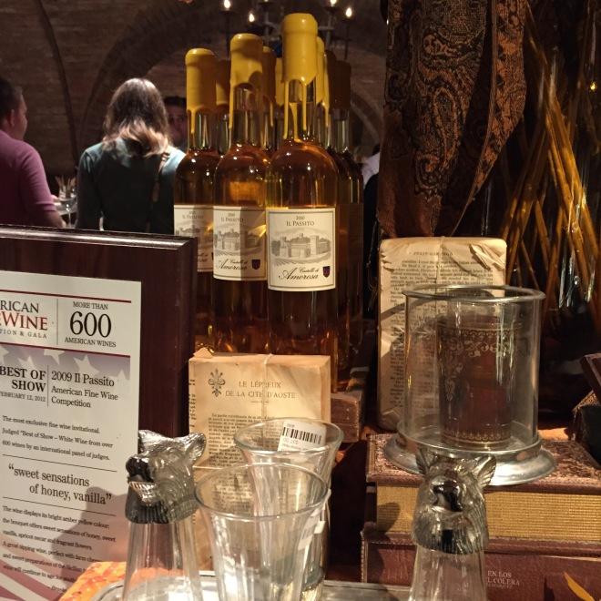Castello di Amorosa 2010 IL PASSITO Reserve, Late Harvest Sauvignon Blanc, Semillon image by Katie Shea Design Sweet Dessert Wine   AWARD WINNER-2014 American Fine Wine Competition -