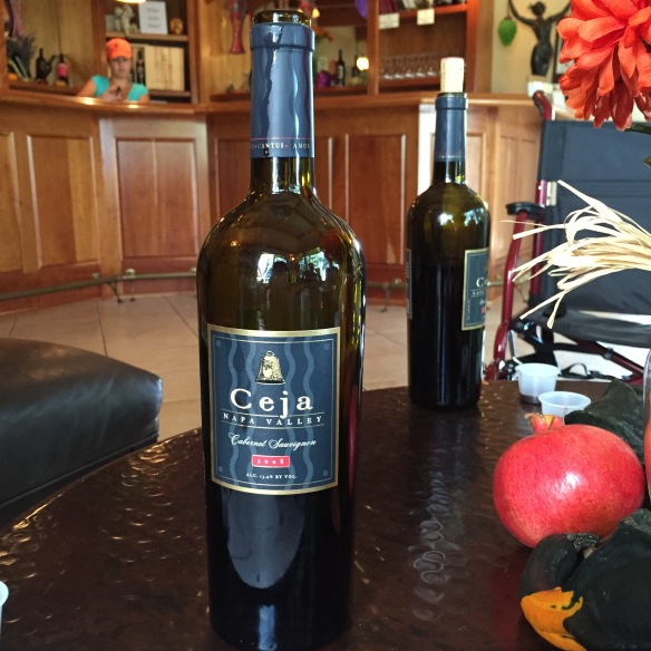 Ceja Vineyards Cabernet Sauvignon Image by Katie Shea Design