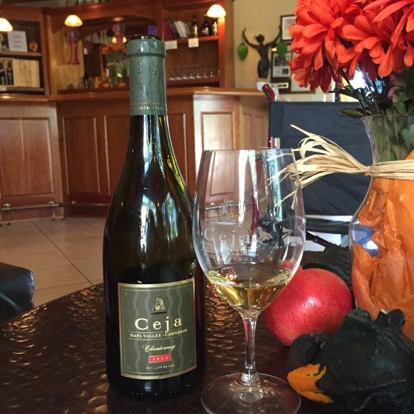Ceja Vineyards  Chardonnay Napa Ca Image by Katie Shea Design