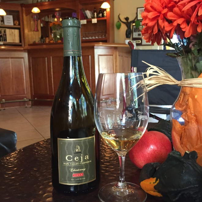 Ceja Vineyards  Chardonnay Napa Ca Image by Katie Shea Design
