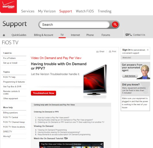 On Demand and Pay Per View Order Support Katie Shea Design LifeOnFiOS