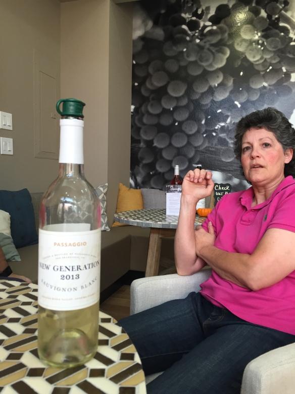 Passaggio New Generation Sauvignon Blanc Wine maker Cindy Cosco