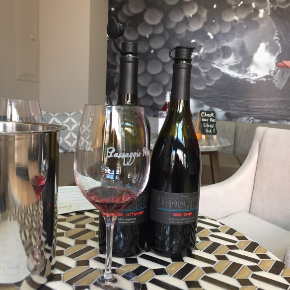 Passaggio Sangioves and Pinot Noir image by katie Shea Design