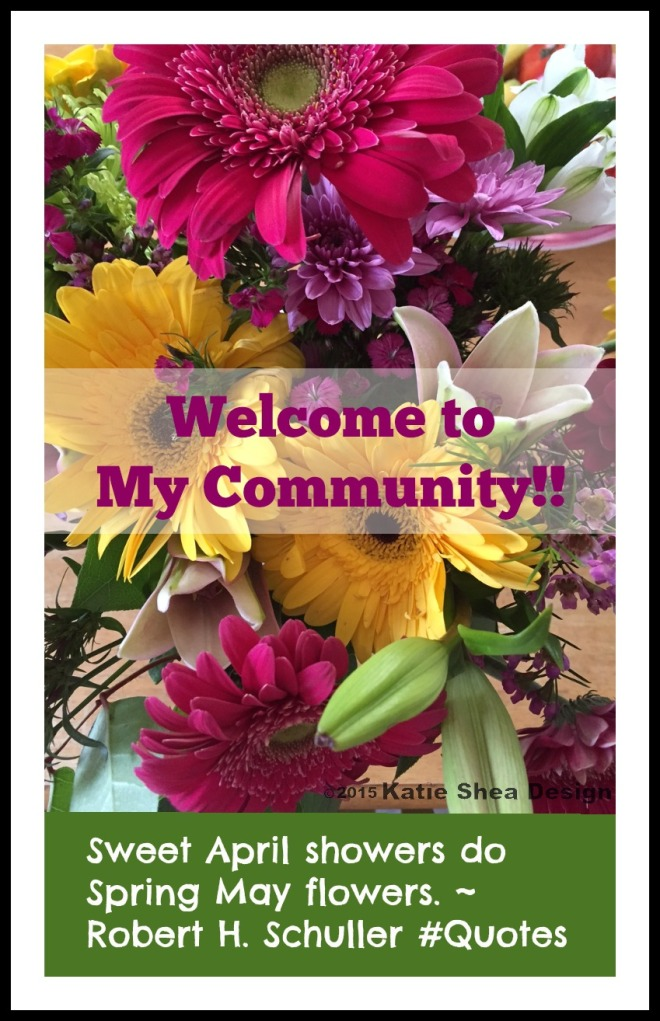 Welcome to My Community by Katie Shea Design
