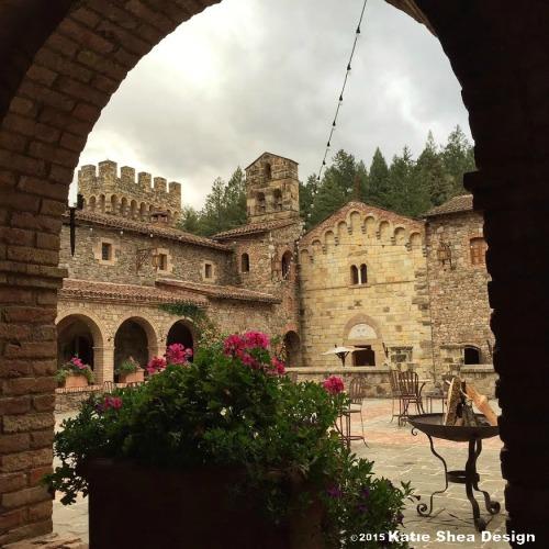 castle di amorosa image shot by Katie Shea Design iPhone6 VZWBuzz c2015