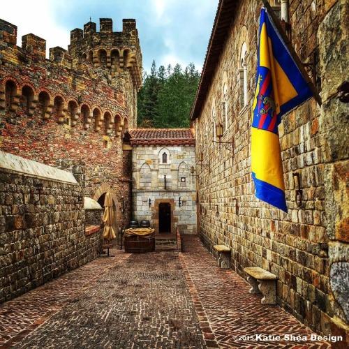 castle di amorosa Wine Country CA  image shot by Katie Shea Design iPhone6 VZWBuzz c2015
