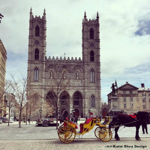 Notre Dame Basilica of Montreal image shot with iPhone6 by Katie Shea Design c2015