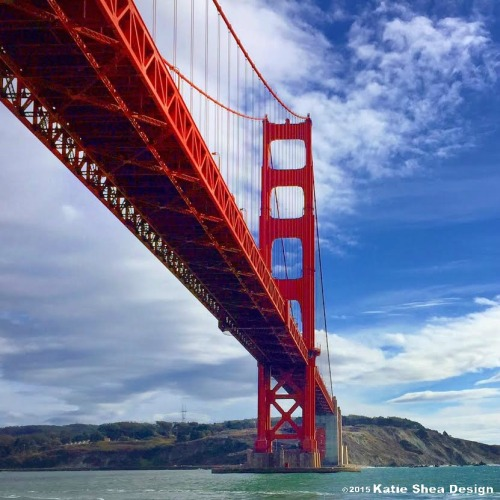 San Francisco Bay Bridge Image shot with iPhone6  by Katie Shea Design VZWBuzz C 2015