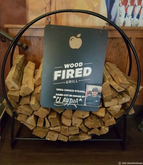 Its here!! Applebees new woodfired grilled menu image shot by Kathleen Decosmo KatieSheaDesign Applebees 50th BWay NYC ad (3) 2016