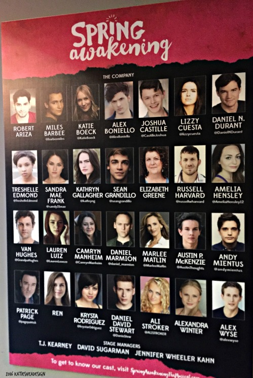Spring Awakening Revival Cast image shot by Kathleen DeCosmo KatieSheaDesign VZWBuzz LifeOnFiOS 2016