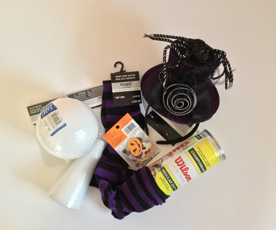 Repurposed Tennis Ball Container Halloween Decor By Katie Shea Design (8)